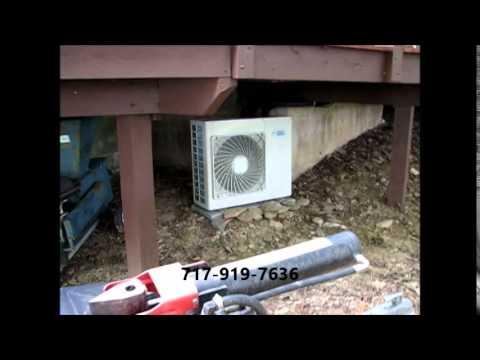 Daikin Multi-Zone Mini-Split AC Installation