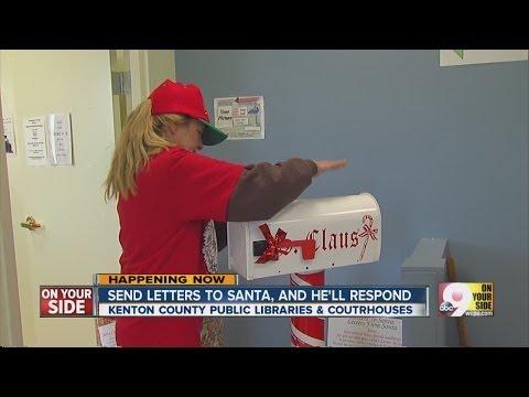 Send letter to Santa, get response