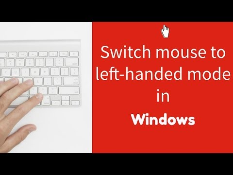 Switching your mouse to left-handed mode