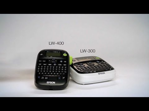 Epson LabelWorks LW-400 Label Printer Label Maker | Epson Malaysia