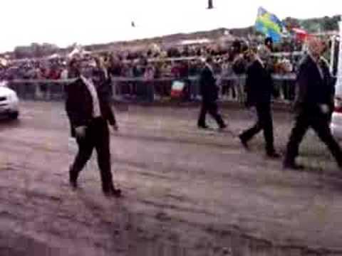 Papstankunft im Randwick Racecourse