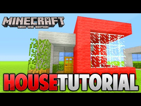 Minecraft Small Modern House Tutorial  (Xbox 360 /Ps3/Xbox one/Ps4)