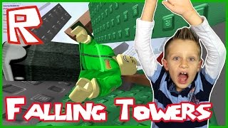 Download Natural Disaster Survival / Falling Towers / Roblox Video