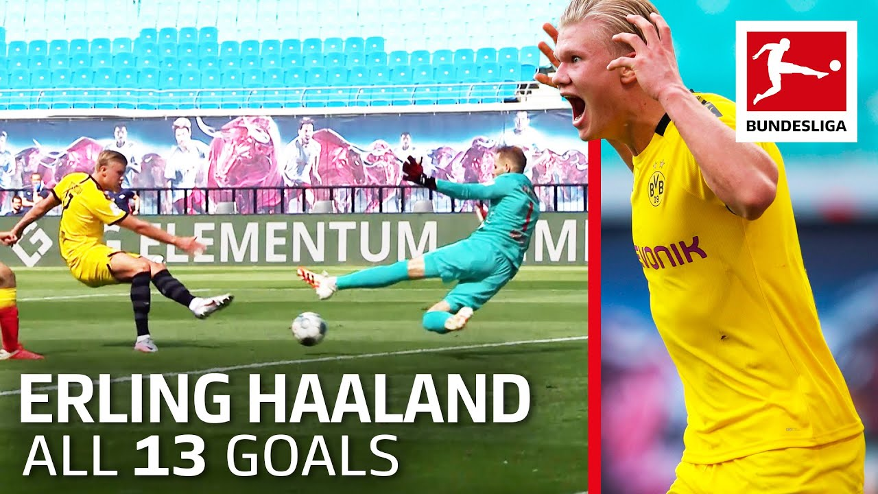 Erling Haaland Unstoppable - Now 13 Goals in 14 Games