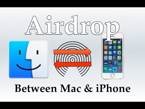 AirDrop between iOS & Mac [HOW TO]