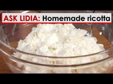 Ask Lidia: Homemade Ricotta