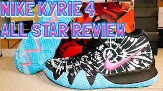 998d2177a179 04 28 · NIKE KYRIE 4 ALL STAR REVIEW   ON FEET!!