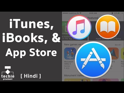 What Is iTunes Store, iBooks Store, iOS App Store, and Mac App Store? [HINDI]