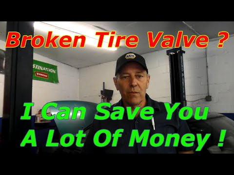 Repair Broken Tire Pressure Sensor Don't replace It !!!!!