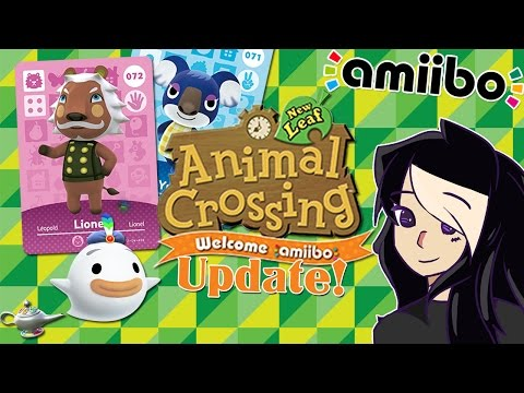 Animal Crossing: New Leaf Update! ~ How to Find Wisp, Amiibo Support, Force Villagers to Move Out!
