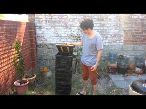 How to Build a Crate Composter