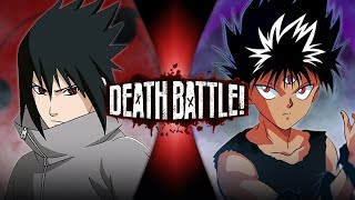 Sasuke VS Hiei (Naruto VS Yu Yu Hakusho) | DEATH BATTLE!
