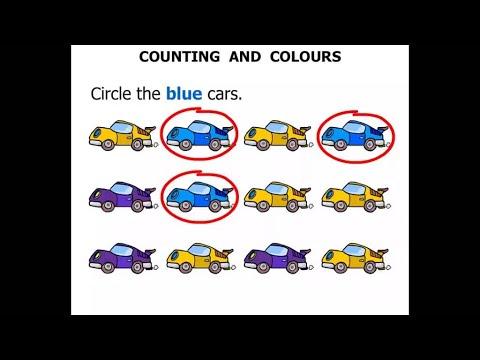 Kindergarten Lessons 2015: Counting and Colours