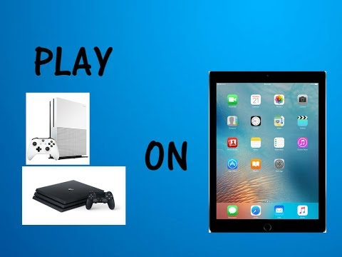 HOW TO PLAY XBOX ONE/PS4 ON IPAD/MOBILE DEVICE!!!