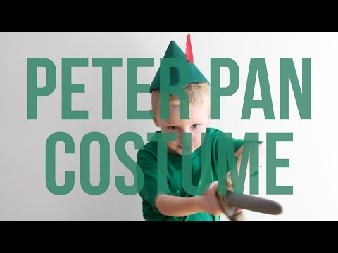 Disney's Peter Pan No Sew Halloween Costume for Kids
