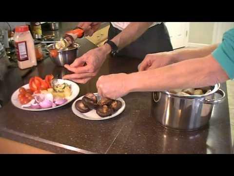 Shiitake Bobs-A Vegan Shish Kebab Alternative