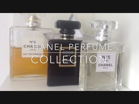 My Chanel perfume collection !
