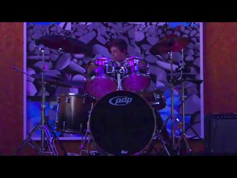 Drum solo  by Phoenix Williams at Band Night - Waimauku School, New Zealand