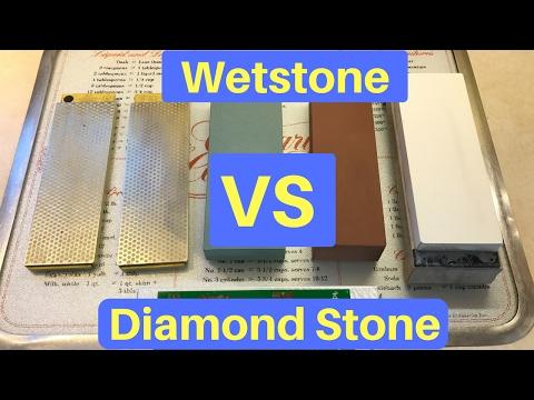 Diamond Stone VS Wetstone