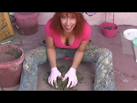 How to make concrete stepping stones glass turkeys and fun