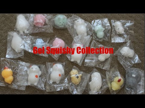 Gel Squishy Collection ( Extreme Crinkling Sounds)