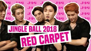 J-14 Interviews Your Favorite Celebrities At Jingle Ball 2018 | Red Carpet
