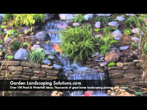 Ponds and Waterfalls Design Ideas