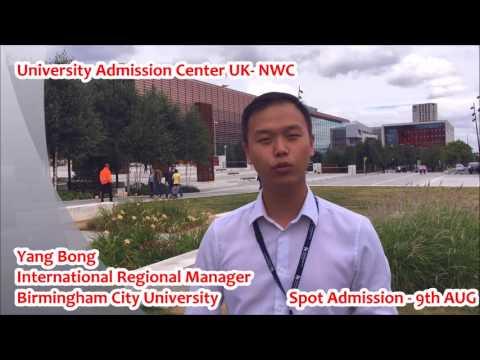 Birmingham City University-  University Admission Center UK
