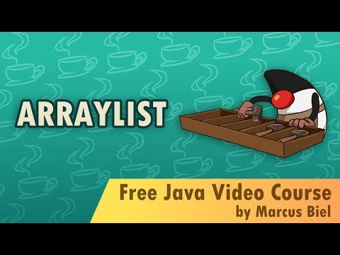Java for Beginners 24 - ArrayList