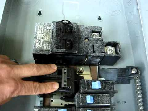 Circuit Breaker Panel Problem - arcing between busbar and breaker - heating and melting plastic