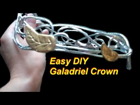 DIY Cheap and Easy Galadriel Crown
