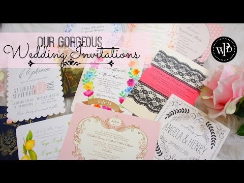 Where To Find Gorgeous Wedding Invitations | My Wedding Invites