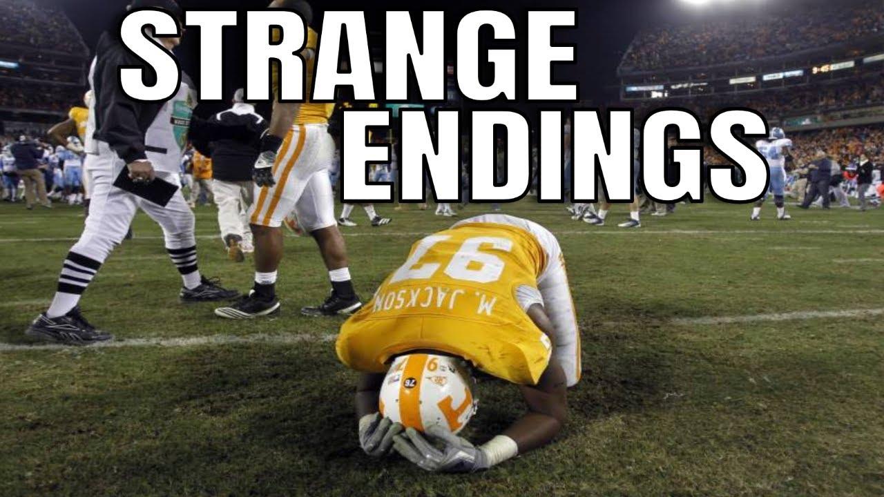 College Football Strangest Endings   Part 2