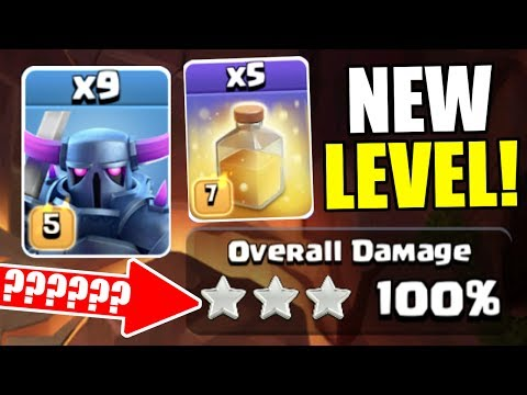 NEW SPELL LEVELS TESTED!! - Clash Of Clans MASS TROOP ATTACKS ft NEW SPELLS!