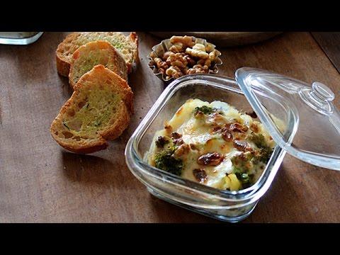 Gratin of broccoli recipe