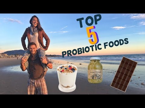 Top 5 Probiotic Foods: Healthy Gut Shopping List: Thomas DeLauer