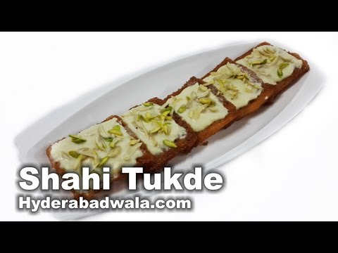 Shahi Tukda Recipe Video – How to Make Bread Pudding at Home – Very Easy & Simple