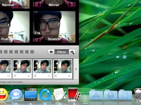 How to add your own background to Photobooth effects