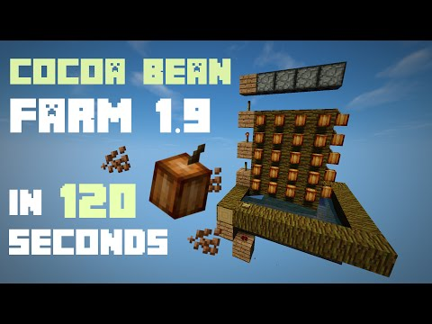 Minecraft: Cocoa Bean Farm 1.9 [120 seconds]