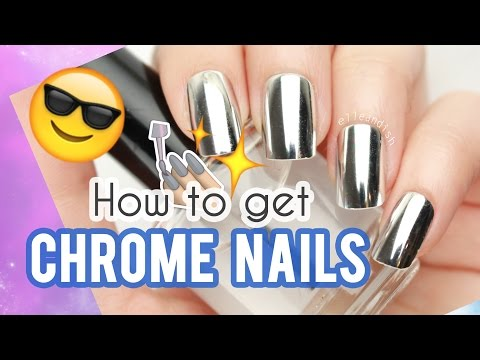 ★ How to get CHROME NAILS ★