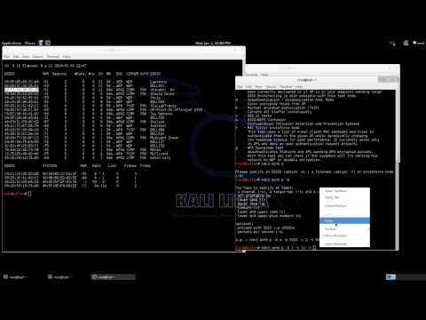 Brute force hidden SSIDs with mdk3