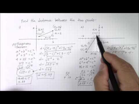 Distance between 2 points Part 2