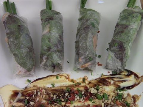 Herb And Vegetable Spring Roll Recipe