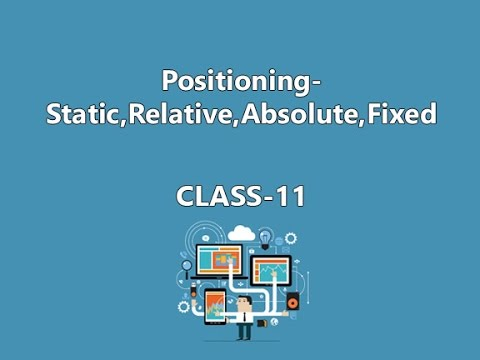 How To Set Position Of Div In HTML-Class 11