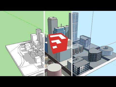 SketchUp City Building - Basic Tips & Tutorial