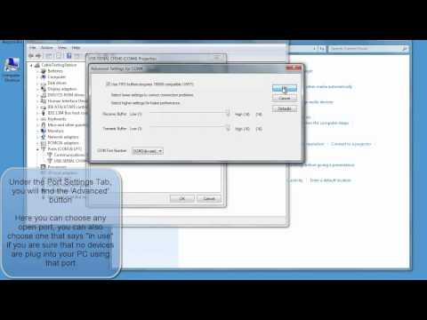 USB Changing port number on a USB device Windows 7 and XP.mp4