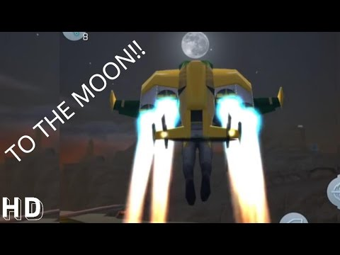 Gangstar Vegas Funny Moments#2 - Fly me to the Moon??