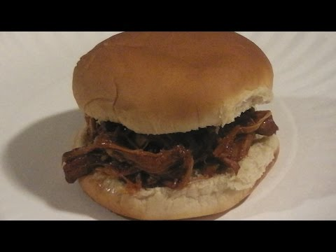 Pulled Chicken BBQ Sandwich Recipe in a Crock Pot