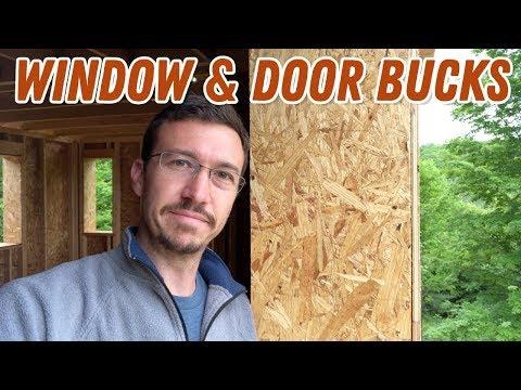 Window Door Bucks Double Wall Construction