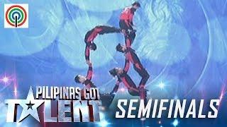 Pilipinas Got Talent Season 5 Live Semifinals: Dino Splendid Acrobats - All Male Actobat Group